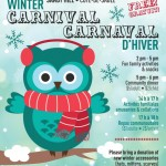 Winter Carnival / Le carnaval d'hiver 2016 – Sun Jan 31 – 2:00 pm to 6:00 pm