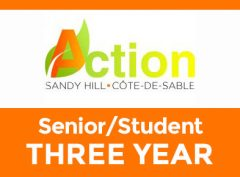 Senior/Student – Three Year
