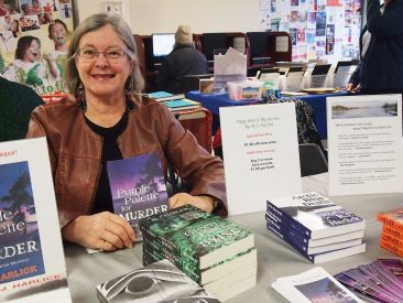 5.	Author Robin Harlick and her books.